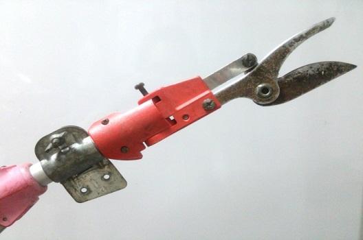 高木の剪定で便利な道具