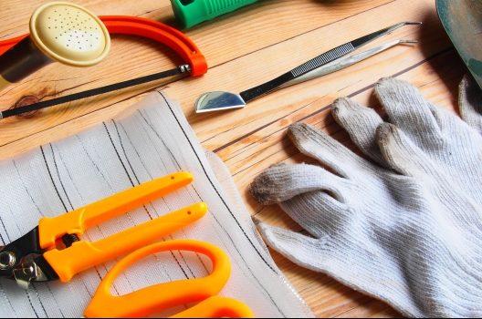 剪定の手法と道具について